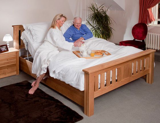 double combination bed with adjustable height