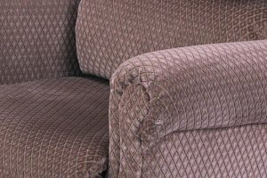 Close up of chair fabric