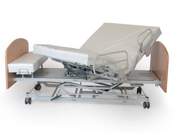 Heavy duty rotating bed