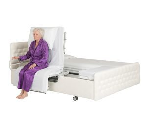Rotoflex dual adjustable turning bed