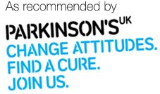 Recommended by Parkinsons UK