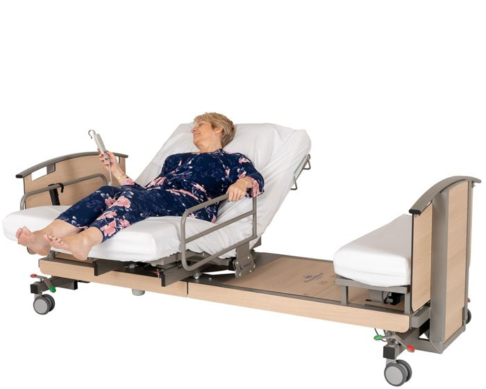 The Rotoflex Adjustable Beds Rotating Beds Care Beds And The Leg Lifter