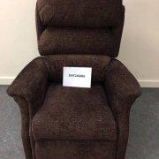 Brown Dual Motor Riser Recliner Chair