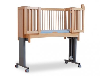 Cot with high legs