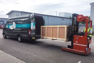 Theraposture delivery vans