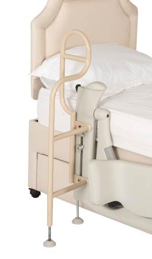 Leg lifter - hand rail