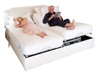 adjustable double bed