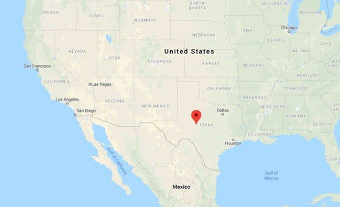 San Angelo, Texas, USA.