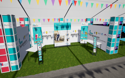 Theraposture DAD event stand 2020