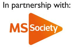 in partnership with MS society