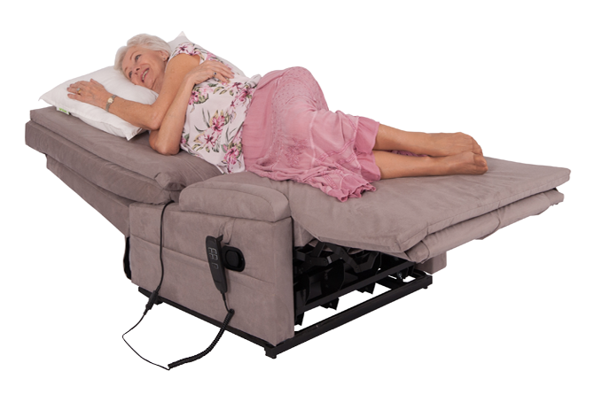 Chair bed laying flat